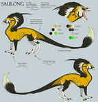 Saulong Reference by KazultheDragon