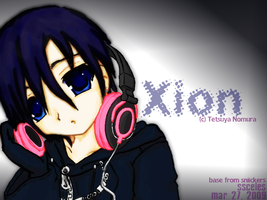 Xion: Pink Headphones by ssceles