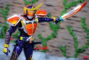 Orange Samurai Gaim by dejivrur
