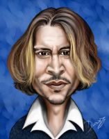 Johnny Depp Caricature by DarDesign