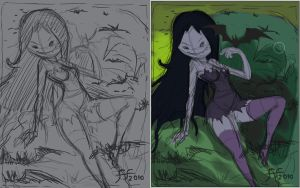 marceline sketch by 14-bis