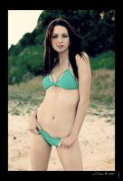 Green Bikini 1 by Katty10