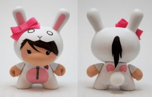 Bunny Suit Girl 'J' Dunny by xf4LL3n
