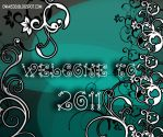New Year Wallpaper 2011 by AviiAhmed