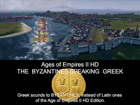 Age of empireS  II HD Greek sounds to Byzantines by ZEUSosX
