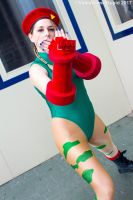 Katsucon 2017 - Cammy(PS) 02 by VideoGameStupid