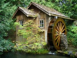 MG-Old Mill Waterwheel 3 by Talc-AlysStock
