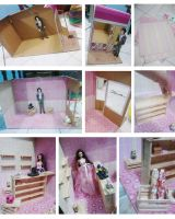 on the making of Barbie General Store by seawaterwitch