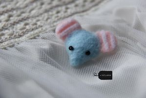 Needle Felted Mouton (2) (forsale) by FluffyParcel