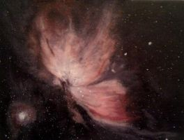 Orion Nebula by Lucyjain