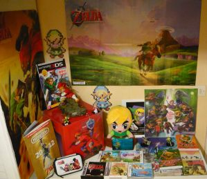 My Zelda collection by Claire-de-lune61