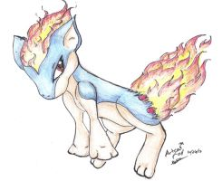Quilava RQ by artisticcat101
