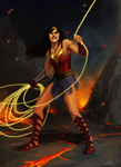 wonder woman by YoungerChild