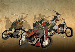 MotoBushido- the game by sketchmarcks