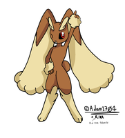 -Collab- Lopunny by Adam1704