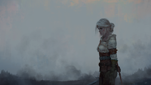 Ciri the Lion Cub of Cintra [Witcher 3] by SteamyTomato