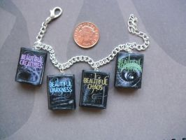 Beautiful Creatures series book bracelet by InsaneJellyBean95