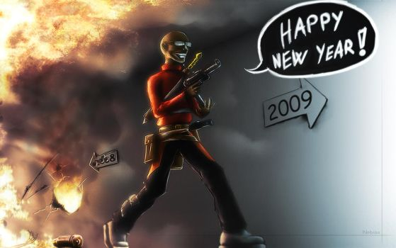 Happy New Year by Nobiax