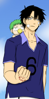 Oga and Beel by AlexanJ