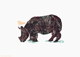 RHINO by TheUnknownBeing