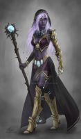 Sorceress By Angevere-d5gy8qp by wavebender