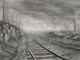 Railway to Nowhere by Sikarbi
