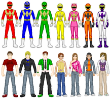 Animorph Rangers With Extras by PowerRangers159