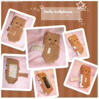 Hello Cellphone by apple-garden