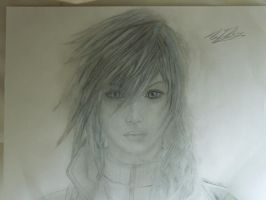 Lightning Farron FFX13 by VanishedReality