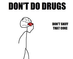 DON'T DO DRUGS SIR by doomgrip776