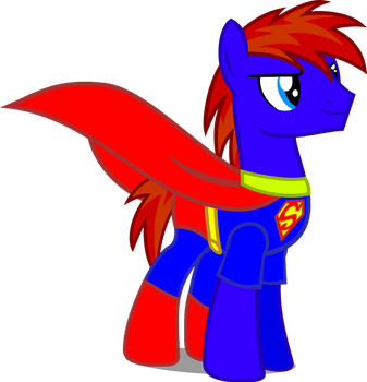 Rail Spike's Superman Costume by PereMarquette1225