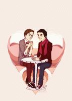 Valentine's Day Klaine by miryah