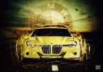 BMW 3.0 CSL Hommage Wallpaper by eduard2009
