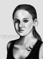 Shailene Woodley as Tris Prior by Bolero-lief