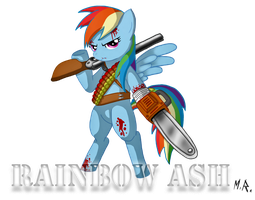 RAINBOW ASH by ShadowNinja976
