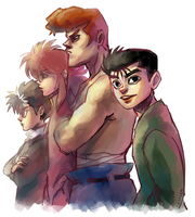 YYH by student-yuuto