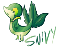 snivy by haemorrhoid