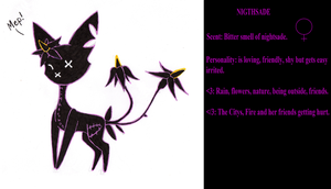 Nightshade -Ref- by Catdragons