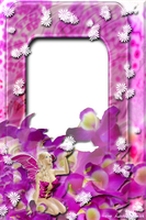 Lav's PNG Frames97 with Fairy of Ecathe by Lavandalu