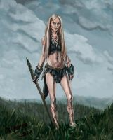 Cavegirl by Alcomedved