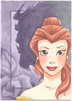 Belle-Art Card by Faerytale-Wings