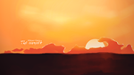 The sunset by AhMeD-MaHdY