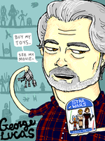 George Lucas by thehaydenclone