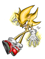 Super Sonic 06 by PunkXBlaze