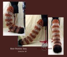 Red Panda tail by MissRaptor