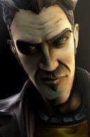 Handsome Jack by Yhrite