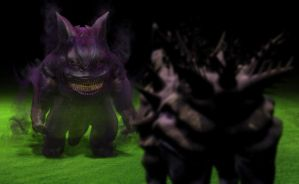 Live Action Pokemon - Gengar by z3292802