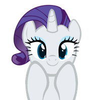 really cute rarity by kuren247