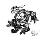 TMNT Sketch by AlexHoey