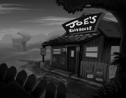 Roadhouse -WIP- Want Critique by Harmonikah
